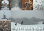 Ansichtkaarten Winter in Wijchen met besneeuwde Molenberg | Wijchen=