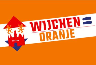 Wijchen= Oranje vlag