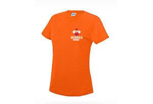 Wijchen= Oranje dames t-shirt - Wijchen=